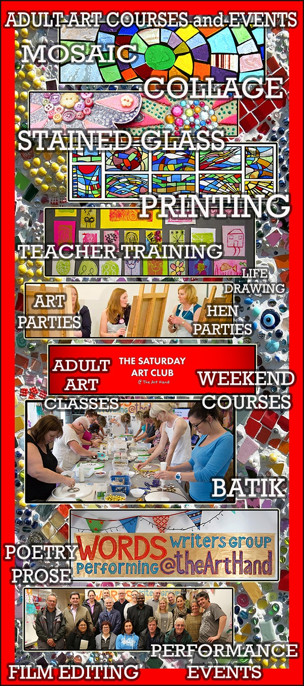 Adult Art Courses and Events