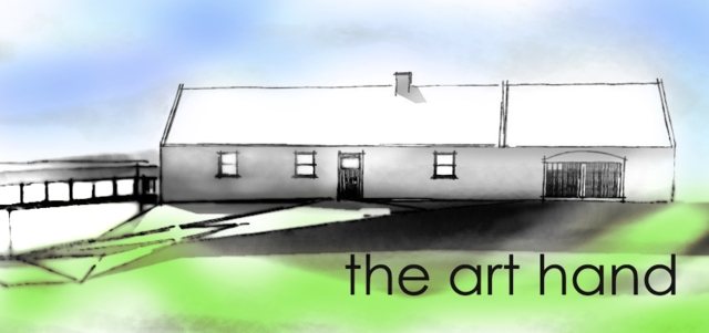 The Art Hand, Logo, The Copper Coast, Art School, Waterford, Ireland