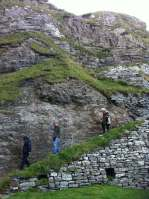 cliff steps