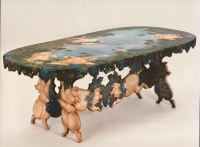 Pig Table © Pamela Silin-Palmer 1992