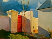 Red Door to my Cottage, Dunabrattin © Patrick Palmer 2008