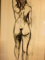 Lifedrawing Artist and Tutor Ger Kennedy from The Art Hand