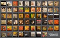 62 Encaustic Wax Paintings