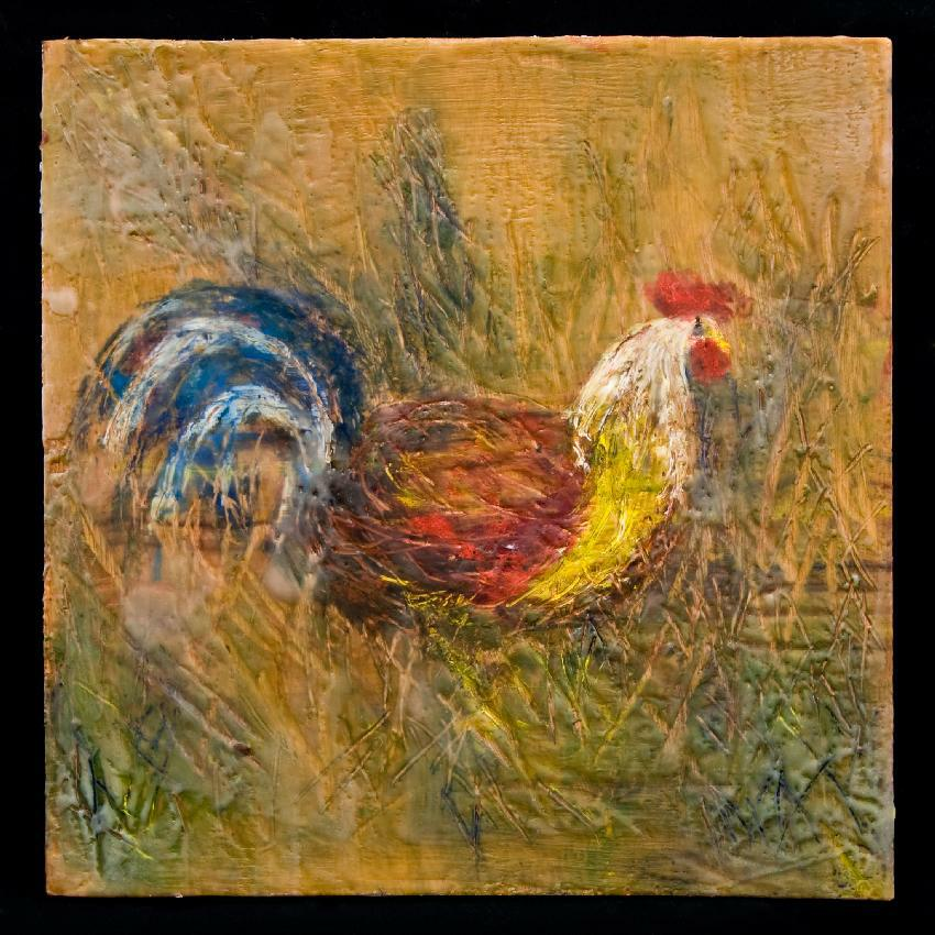 Https Thearthand Wordpress Com 2012 06 11 62 Wax Paintings Created In 3 Days Encaustic Wax Painting 44