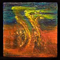 Encaustic Wax Painting (50)