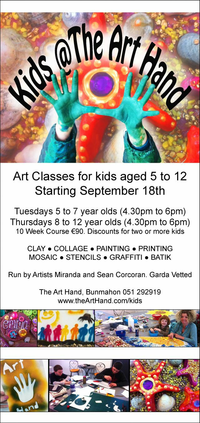Kids Art Classes at The Art Hand