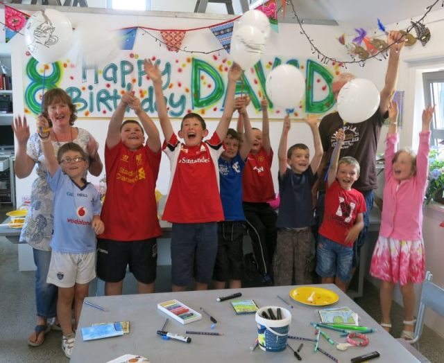 Kids Art Parties