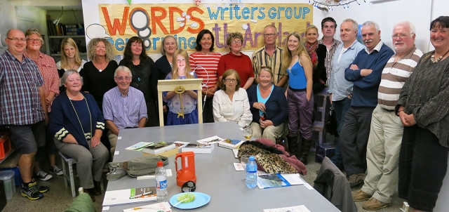 Words Writers Group Performing at The Art Hand
