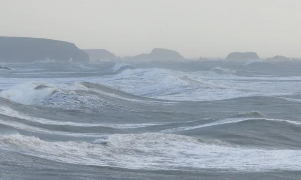 Storm Christine on The Copper Coast