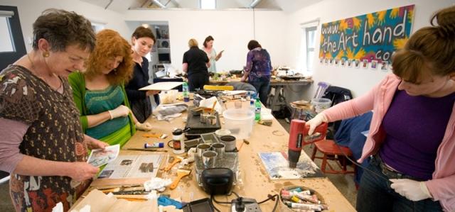 The Saturday Art Club at The Art Hand