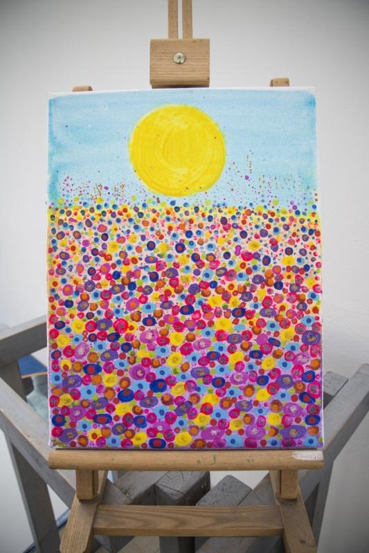 Pointillism Painting