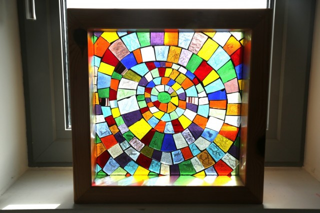 Coloured Glass Mosaic 005