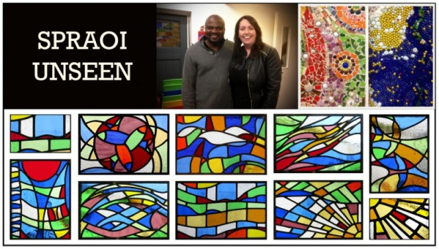 Stained Glass, Mosaic, Film, New Books.