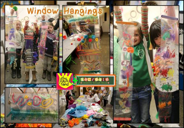 Hangings Window Collage