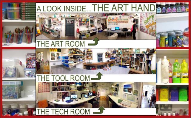 Interior of The Art Hand
