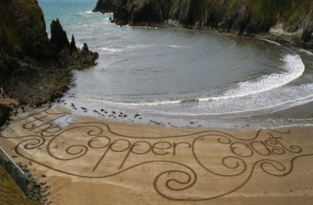The Copper Coast Sand Art Waterford Ireland