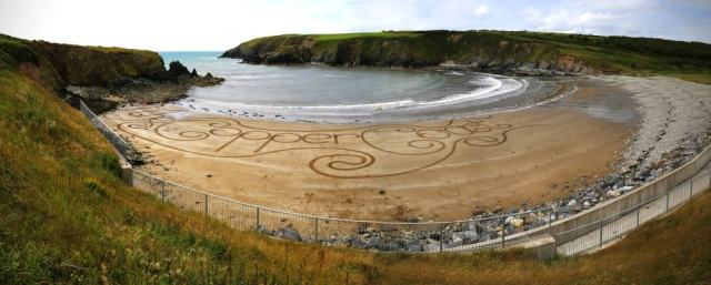 The Copper Coast Sand Art