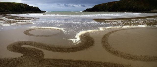 Beach Art Waterford Ireland Sean Corcoran