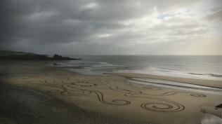 Sand Art Sean Corcoran The Copper Coast Waterord Beach Ireland 6
