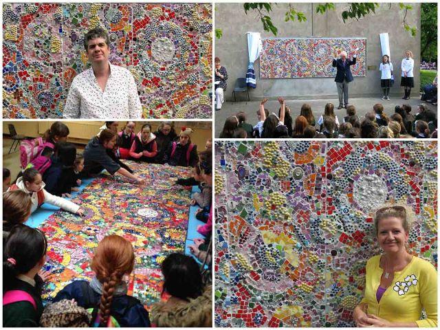 Sean Corcoran Mosaic Memorial Dublin