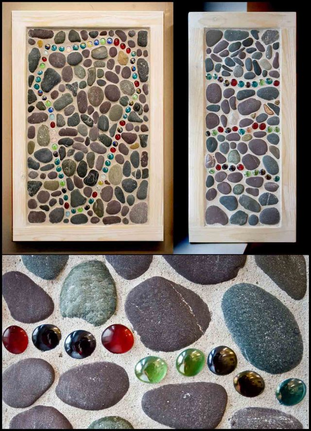 Sticks and Stones Mosaic