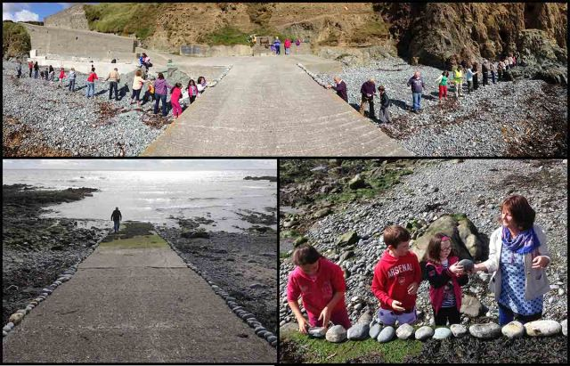 Rock Art Relay on The Copper Coast