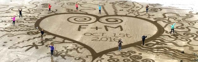 Hen Party Outdoor Beach Art Activity