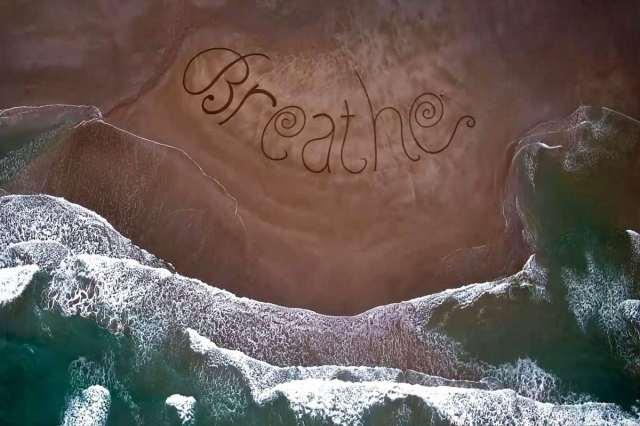 Breathe Sand Art Sean Corcoran Waterford Ireland