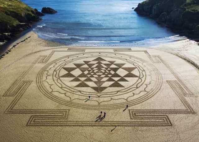 Sand Art Waterford Ireland