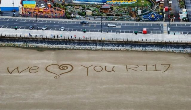 Sand Art Sean Corcoran Waterford We Love You R117