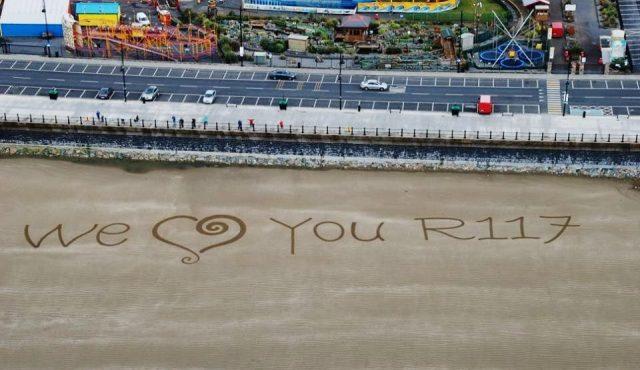 Sand Art Sean Corcoran Waterford We Love You R117