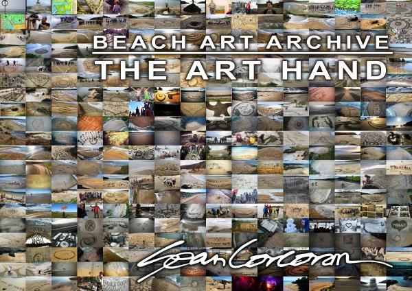 Sand Art Sean Corcoran The Art Hand