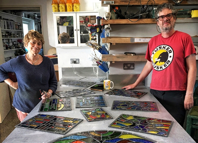 Stained Glass workshop class waterford ireland